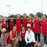 DNC team Oxfordshire Netball 65th birthday - charity tournament.