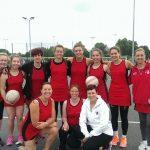 DNC team Oxfordshire Netball 65th birthday - charity tournament.